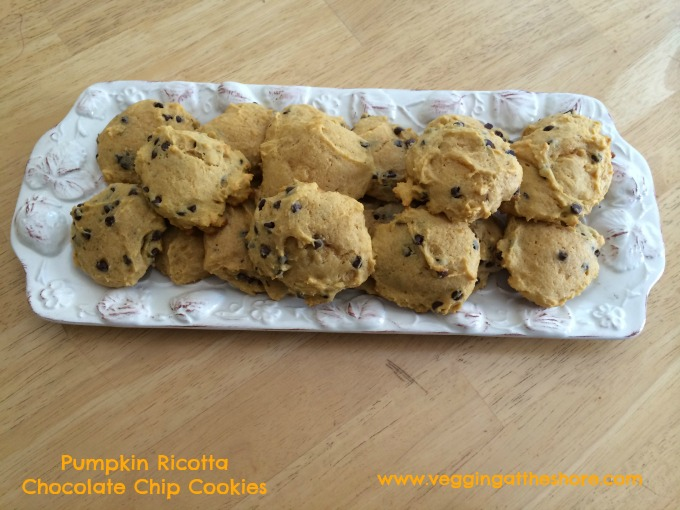 Pumpkin Ricotta Choclate Chip Cookies