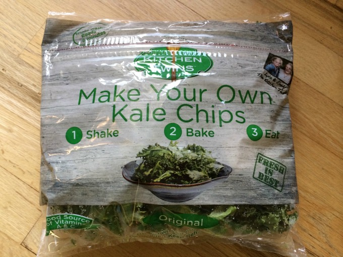 Make your own kale chips bag