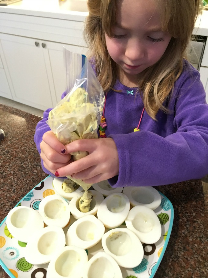 Filling Egg Shells