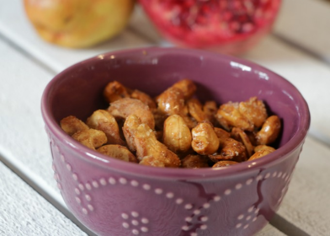 pomegranate-cashews