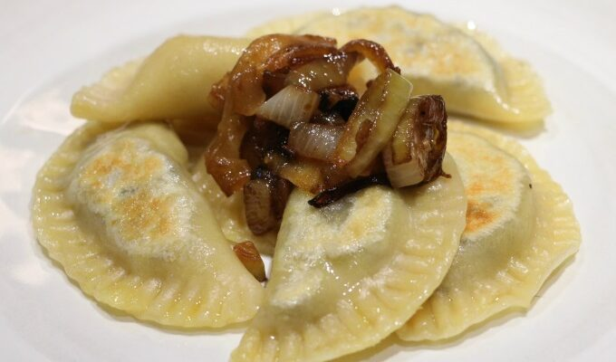 Mushroom and Potato Pierogies